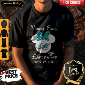 Minnie Mouse Cars And Dolphins Kind Of Girl Shirt