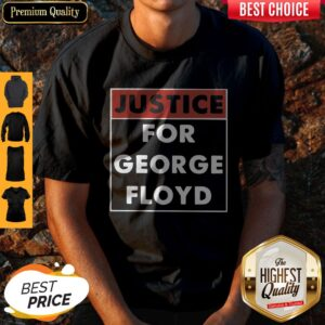 Official Justice For George Floyd Shirt