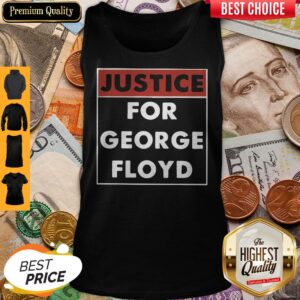 Official Justice For George Floyd Tank Top