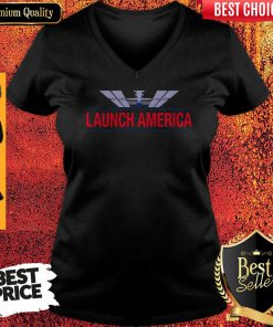 Official Launch America V-neck
