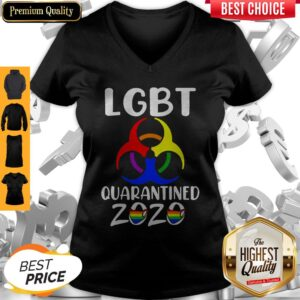 Official LGBT Quarantined 2020 V-neck