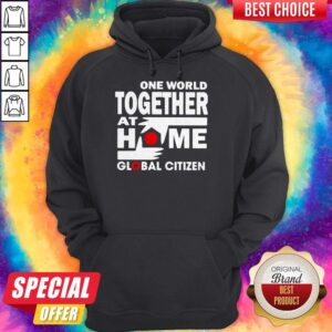 Official One World Together At Home Global Citizen Hoodie