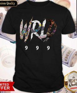 Official RIP Juice WRLD 999 Shirt