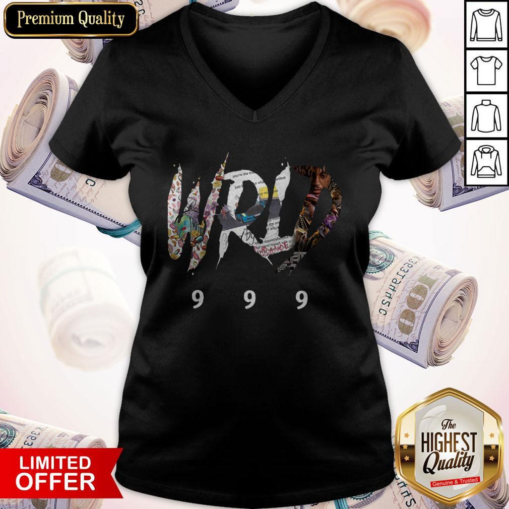 Official RIP Juice WRLD 999 V-neck