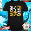 Pittsburgh Steelers Slash Slash Slash Shirt