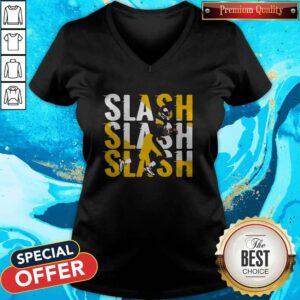 Pittsburgh Steelers Slash Slash Slash V-neck