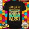 Play Game Leveled Up To Daddy Est 2020 Vintage Shirt