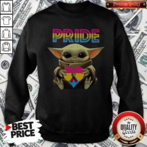 Pride Baby Yoda Awareness Sweatshirt