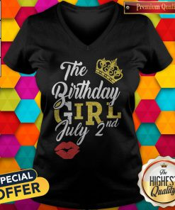 Queen Lip The Birthday Girl July 2nd Diamond Tank Top
