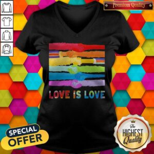 Sesame Street Pride Month Love Is Love V-neck