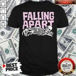 Skeleton Falling Apart Shirt