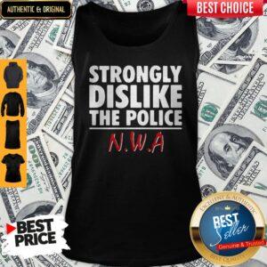 Strongly Dislike The Police NWA Tank Top