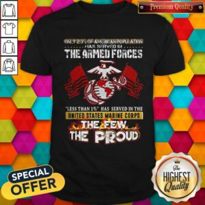 The Armed Forces The Few The Proud Fire Eagle Earth Flag Shirt