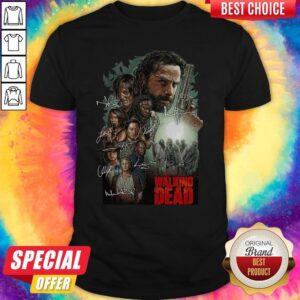 The Walking Dead Signatures Shirt