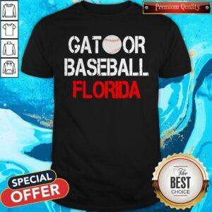 Top Gator Baseball Florida Shirt
