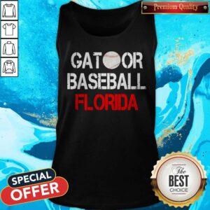 Top Gator Baseball Florida Tank Top