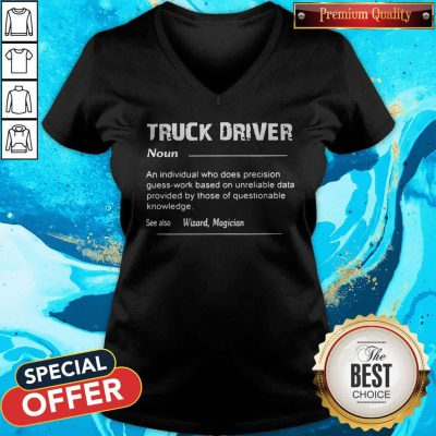 Truck Driver Definition See Also Wizard Magician V-neck