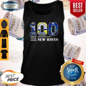 University Of New Haven 100 Year Of 1920 2020 Tank Top