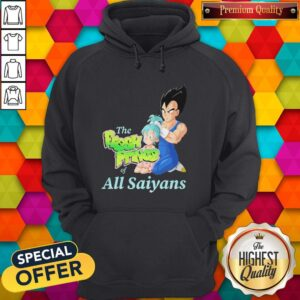 Vegeta And Bulma The Fresh Prince Of All Saiyans Hoodie