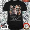 83 Charlie Daniels 1936-2020 Thank You For The Memories Signature Shirt