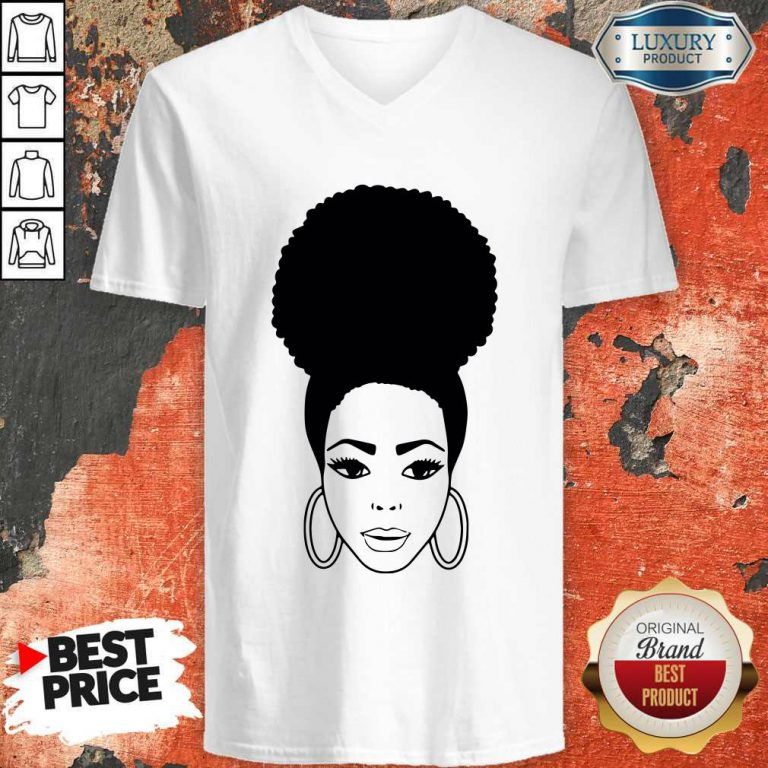 African American Woman Collection V-neck