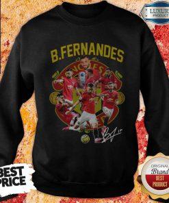 B.fernandes Manchester United Signature Sweatshirt