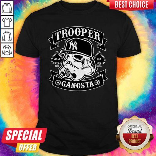 Beautiful Star War New York Trooper Gangsta Shirt