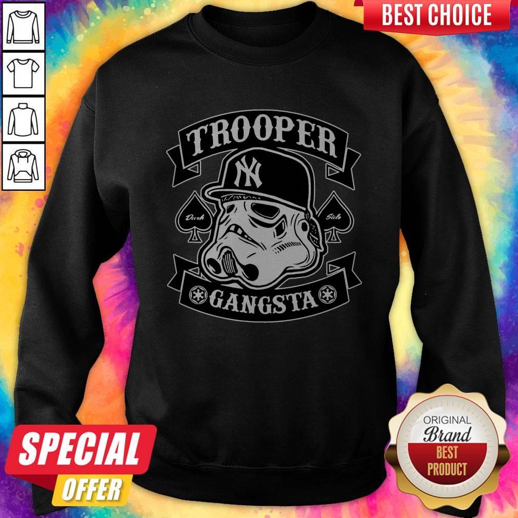 Beautiful Star War New York Trooper Gangsta Sweatshirt