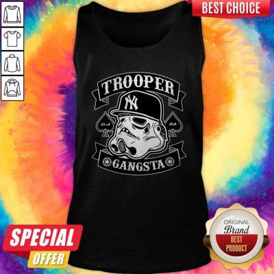 Beautiful Star War New York Trooper Gangsta Tank Top