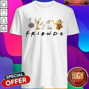 Beauty And The Beast Characters Friends Shirt
