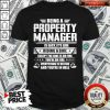 Being A Property Manager Is Easy It's Like Riding A Bike Shirt