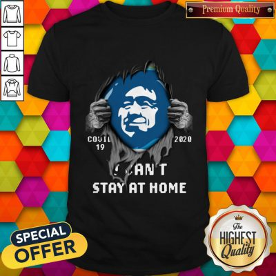 Blood Inside Me Alaska Airlines Covid 19 2020 I Can't Stay At Home Shirt