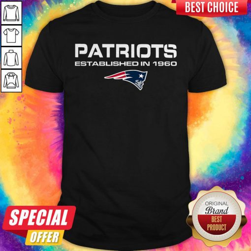 Cam Newton Patriots Established In 1960 Shirt