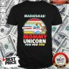 Cute LGBT Baby Unicorn Madafakas Mommy Unicorn Pew Pew Pew Shirt