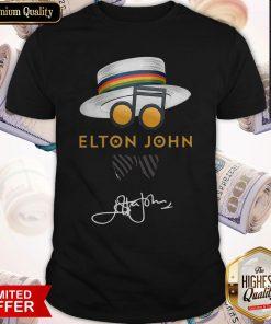 Elton John Hat Signature Shirt