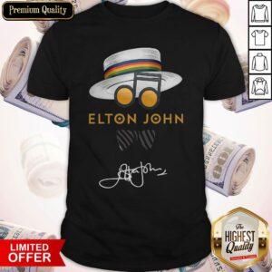 Elton John Hat Signature Shirt