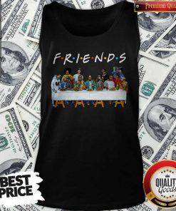 Friends Last Supper Snoop Dogg Tank Top