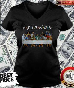 Friends Last Supper Snoop Dogg V-neck
