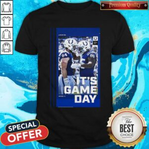 Good Atlanta Falcons And Indianapolis Colts It's Gameday Gallery Shirt