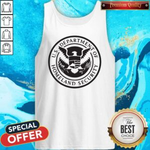 Good Department Of Homeland Security Police Men And Women Tank Top