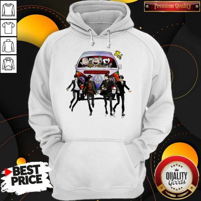 Happy Hippie The The Peanuts And The Beatle Hoodie