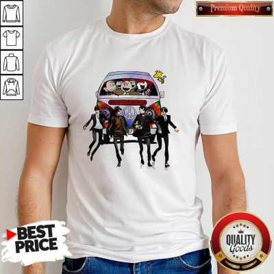 Happy Hippie The The Peanuts And The Beatle Shirt