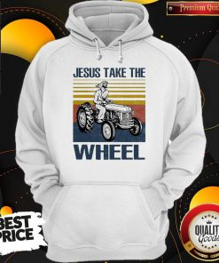 Jesus Take The Wheel Vintage Hoodie
