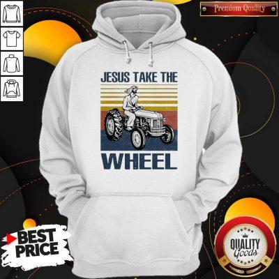 Jesus Take The Wheel Vintage Hoodie