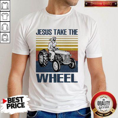 Jesus Take The Wheel Vintage Shirt