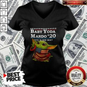 Love Baby Yoda Mando '20 This Is The Way V-neck