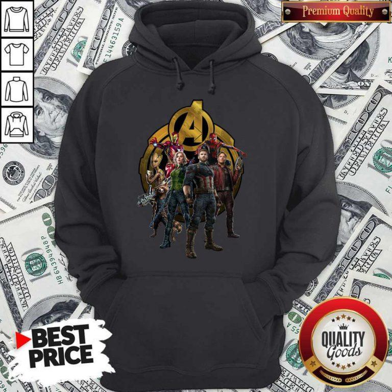 Marvel Studios Avengers Endgame Characters Hoodie