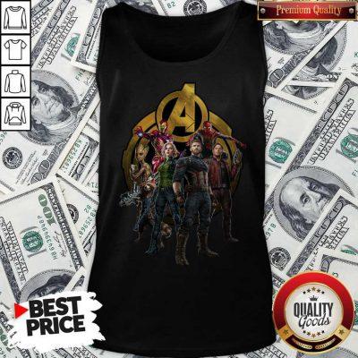 Marvel Studios Avengers Endgame Characters Tank Top