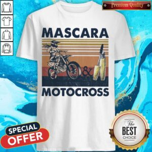 Mascara And Motocross Vintage Shirt