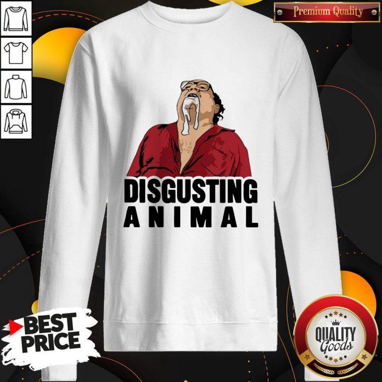Official Disgusting Animal Sweatshirt